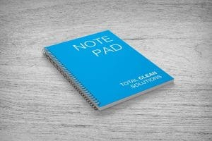 Personalised business notepad